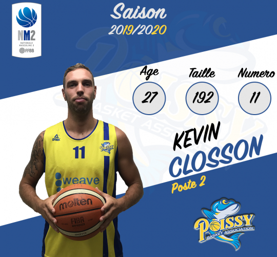 Kevin Closson (Capitaine)